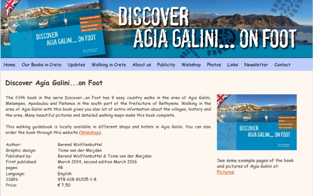 Discover Agia Galini ..on foot!